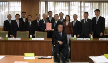 平成29年11月10日(金) 公明党・県民会議議員団で井戸知事に平成30年度の予算申し入れ