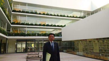 平成29年11月21日(火) 神戸学院大学付属高等学校・中学校を視察