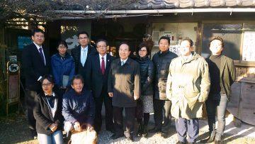 平成29年11月24日(金) 東播磨農業懇談会で明石の太陽酒造をを視察