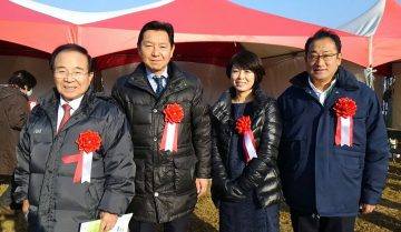 平成29年12月23日(土) 加古川マラソンの開会式に出席
