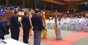平成30年2月3日(土) 芳野旗争奪柔道大会に出席