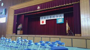 平成30年3月7日(水) 東播磨特別支援学校高等部の卒業式
