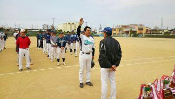 平成30年4月1日(日) 別府リーグの開会式に出席