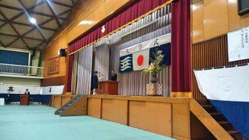 平成30年4月9日(月) 加古川北高等学校の入学式に出席