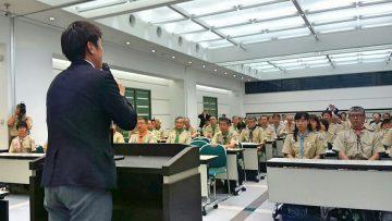 平成30年5月13日(日) ボーイスカウト兵庫連盟の定時総会に出席
