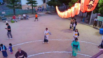 平成30年8月11日(土) マンハイム町内会の盆踊りに参加