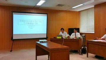 平成30年8月16日(木) 会派で関西学院大学の林教授をお迎えし地域創生について勉強会