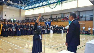 平成30号9月2日(日) 第44回加古川市民少年剣道大会に出席
