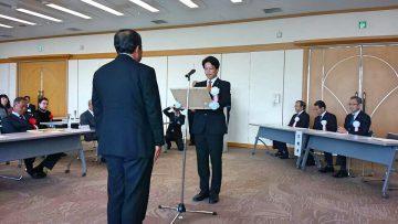 平成30年11月6日(火) 第35回加古川市技能功労者表彰式に出席