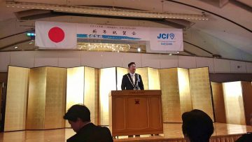 2019年1月15日(火) 加古川JC 新年祝賀会に出席