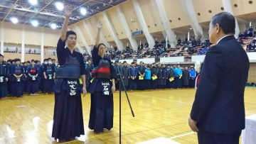 2019年1月6日(日) 加古川市長杯高等学校剣道大会に出席