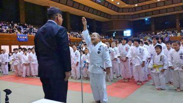 2019年2月23日(土) 第10回芳野旗争奪柔道大会に出席