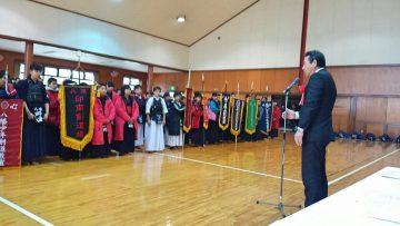 2019年2月3日(日) 第25回加古川市少年剣道教室対抗剣道大会に出席