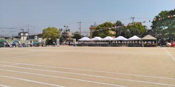 2019年5月25日(土) 別府小学校の運動会に出席