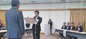 2019年11月7日(木) 第36回加古川市技能功労者表彰式に出席
