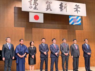2020年1月6日(月) 加古川市年賀会に出席