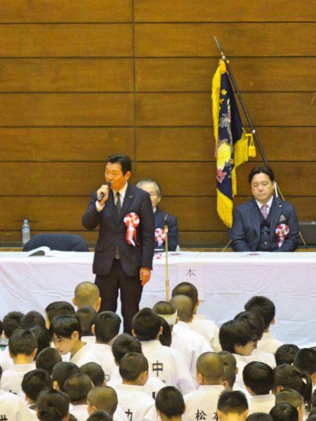 2020年2月22日(土) 芳野旗争奪柔道大会に出席