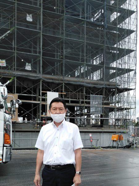 2020年9月10日(木) 健康福祉常任委員会で県立はりま姫路総合医療センター(仮称)の建設状況を視察