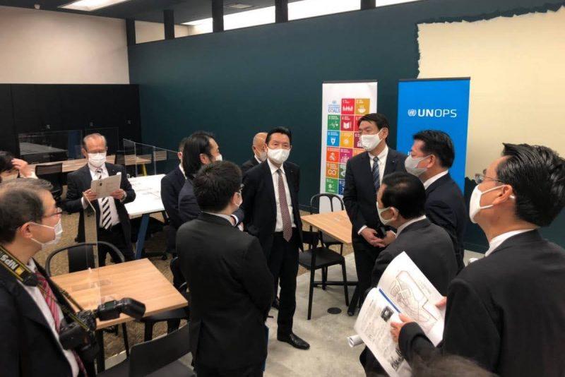 2020年11月17日(火) 起業プラザひょうごグローバルイノベーションセンターを視察
