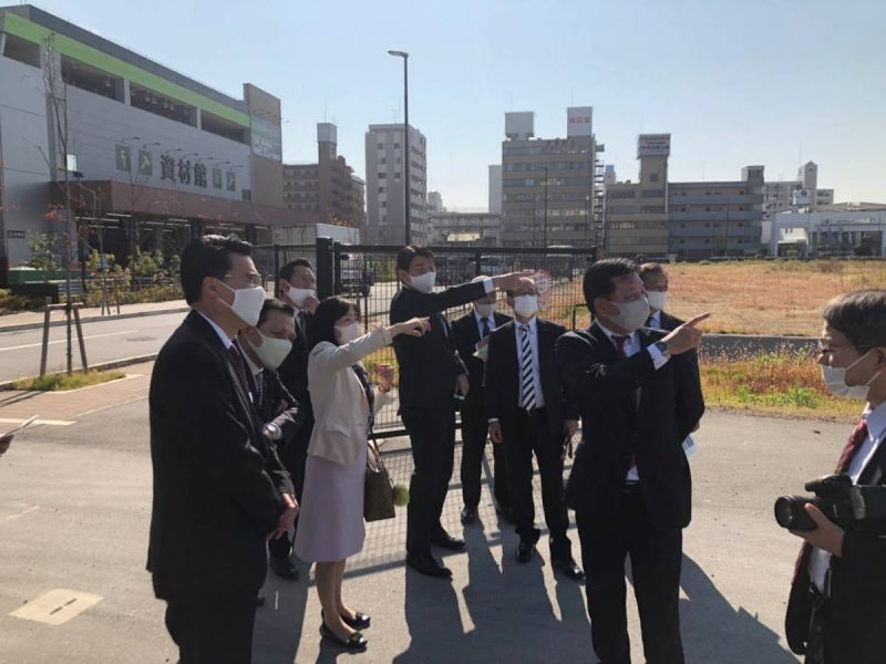 2020年11月17日(火) 西宮新統合病院建設予定地を視察